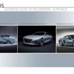 Automotive Exterior Color Trend Moment - Slate Blue