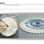 3D Woolen Felt