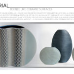 Textile like Ceramic Surfaces