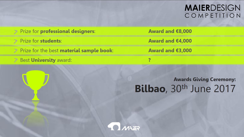 7th Maier International Design Competition Color Trim