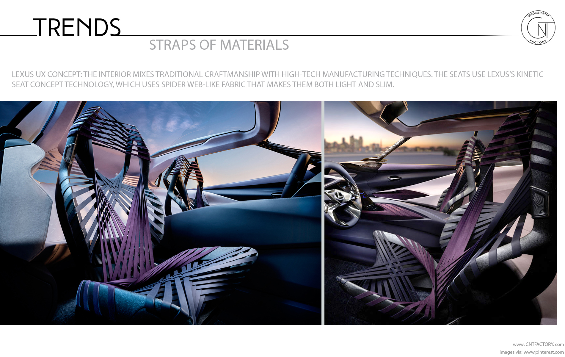Straps Materials Automotive Design