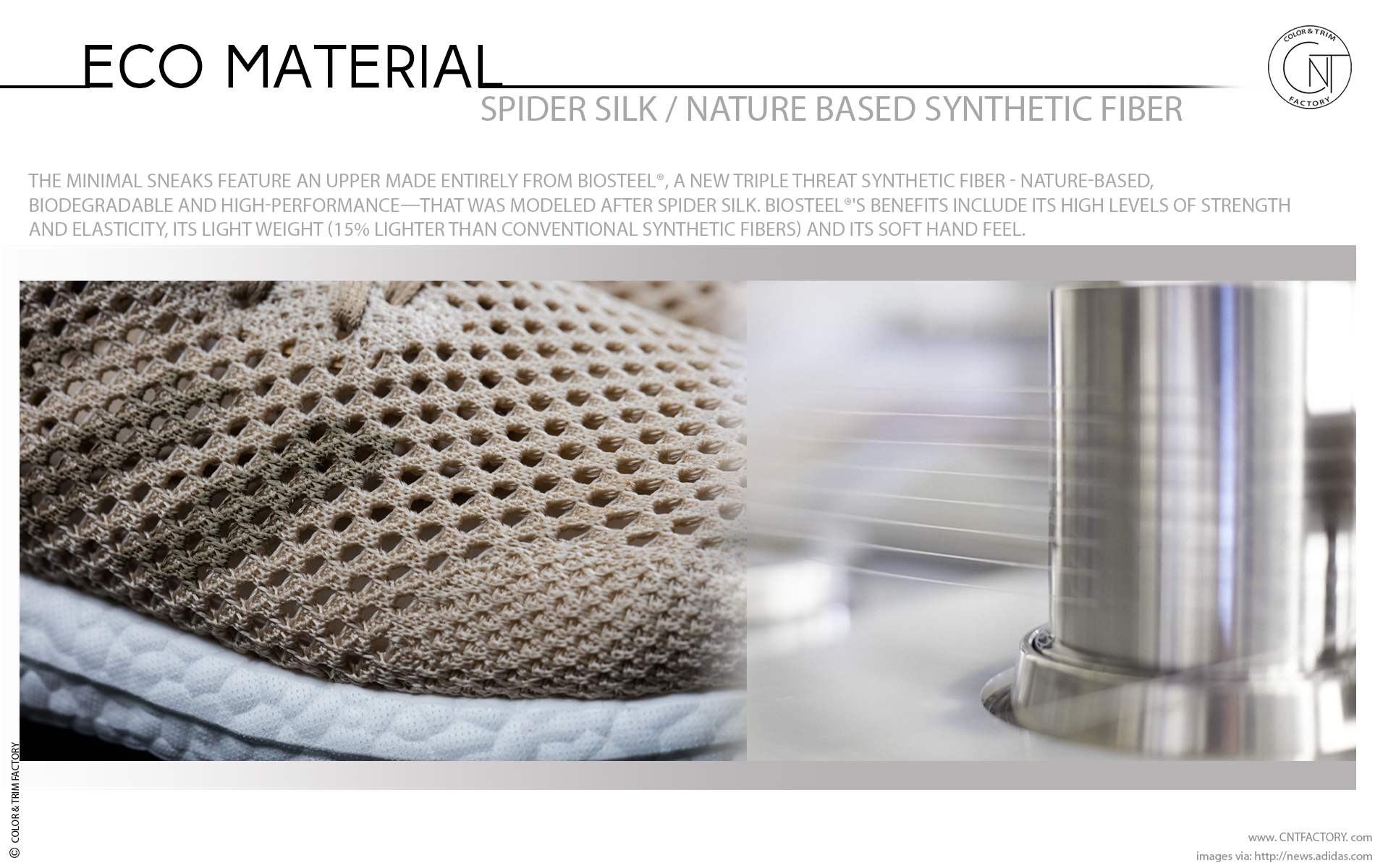 Spider Silk Nature Based High Performance Synthetic Fiber