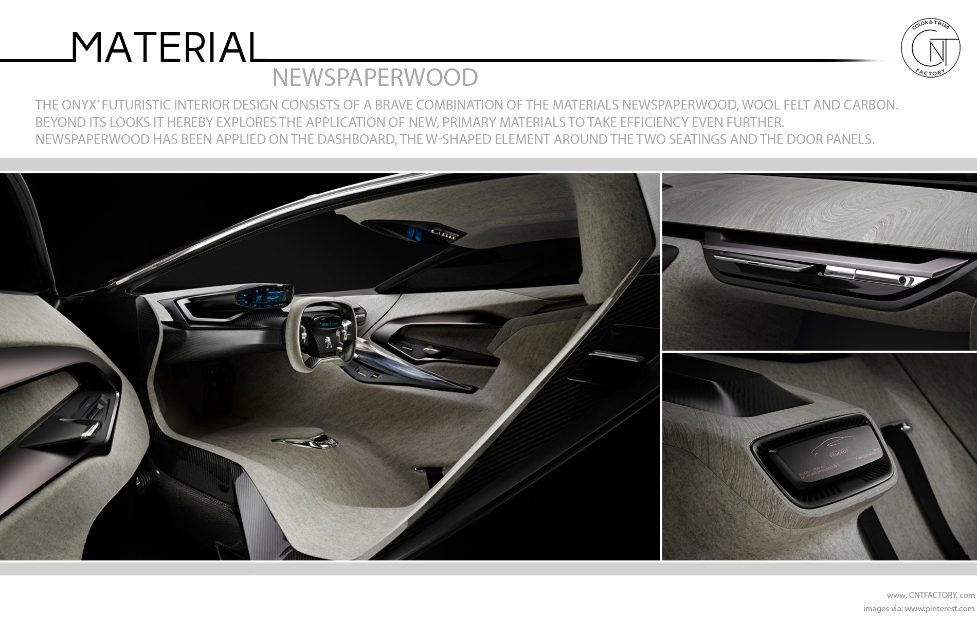 newspaperwood Peugeot Onyx Concept