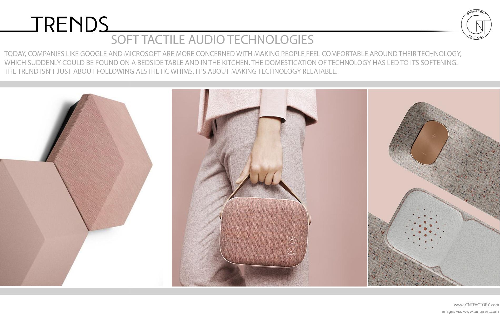 Soft Tactile Audio Technologies