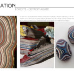 Fordite - Detroit Agate for Automotive Trim Design