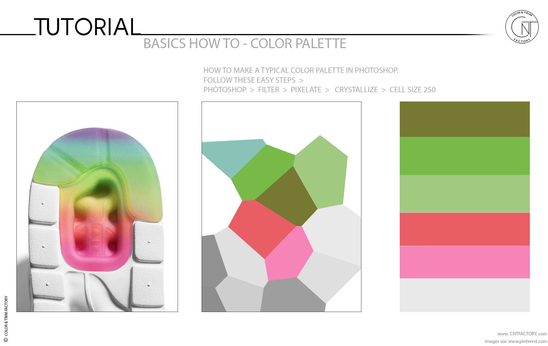 Make Color Trim Palette