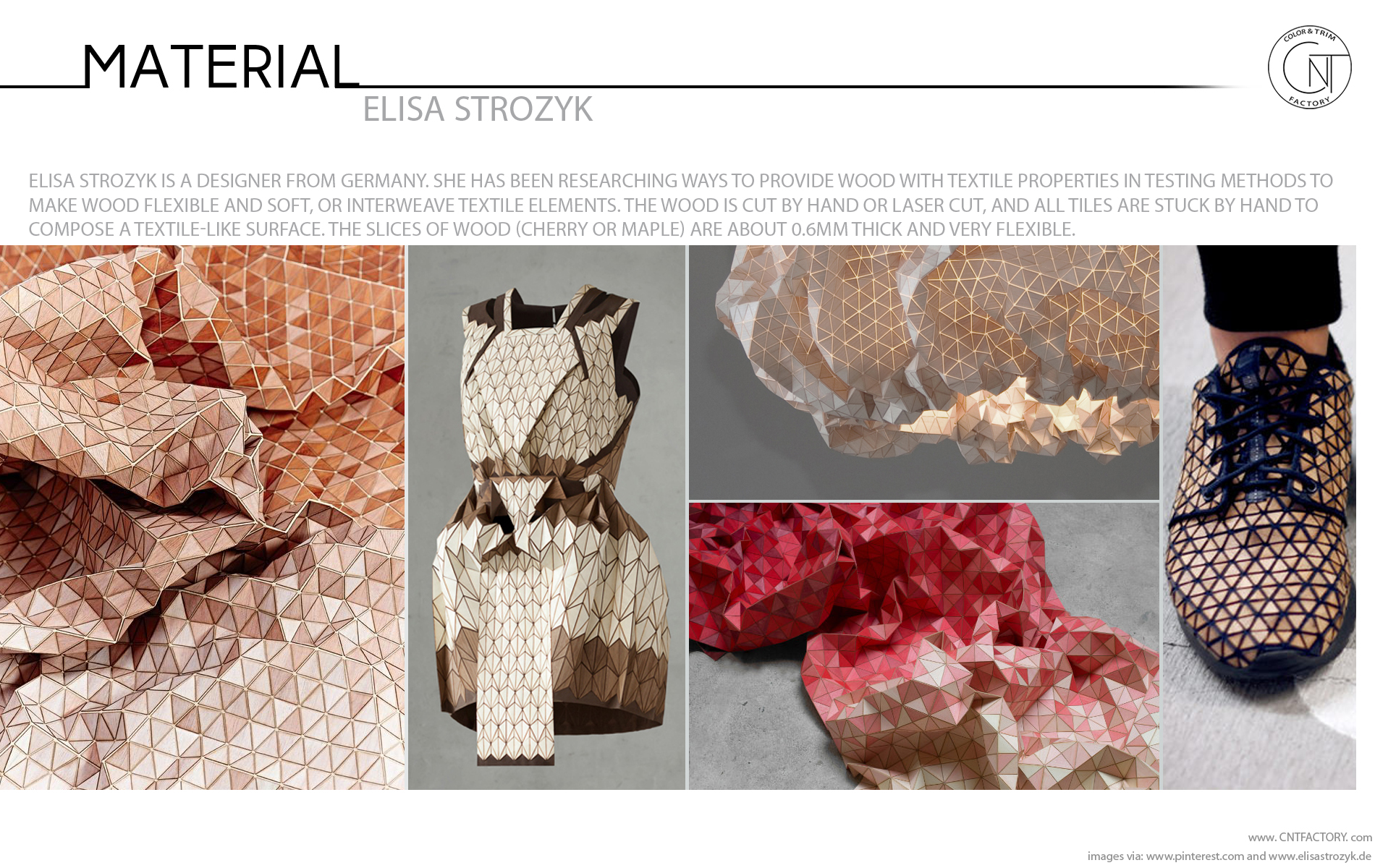 Textile Like Flexible Wood Elisa Strozyk