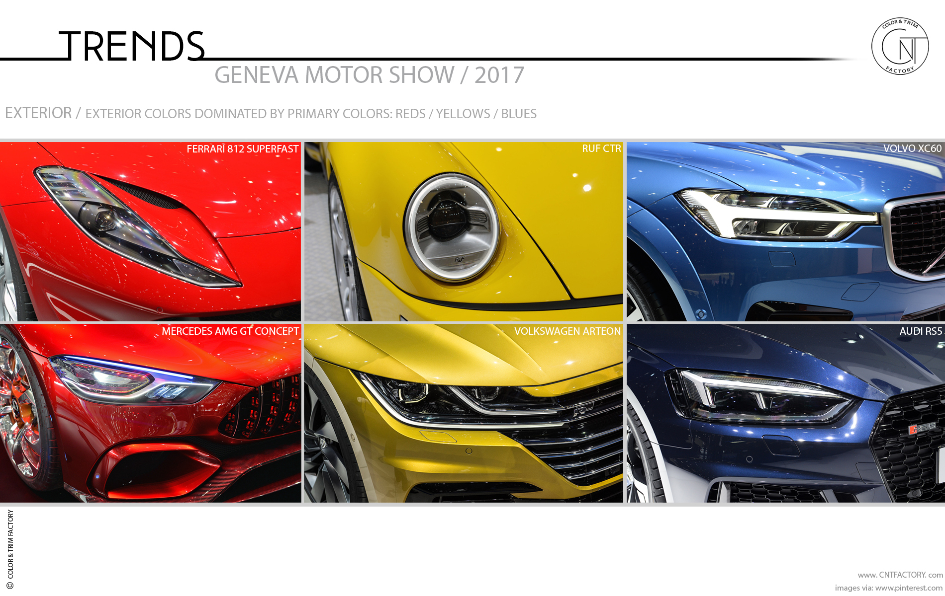 2017 Geneva Motor Show Color And Trim Trends