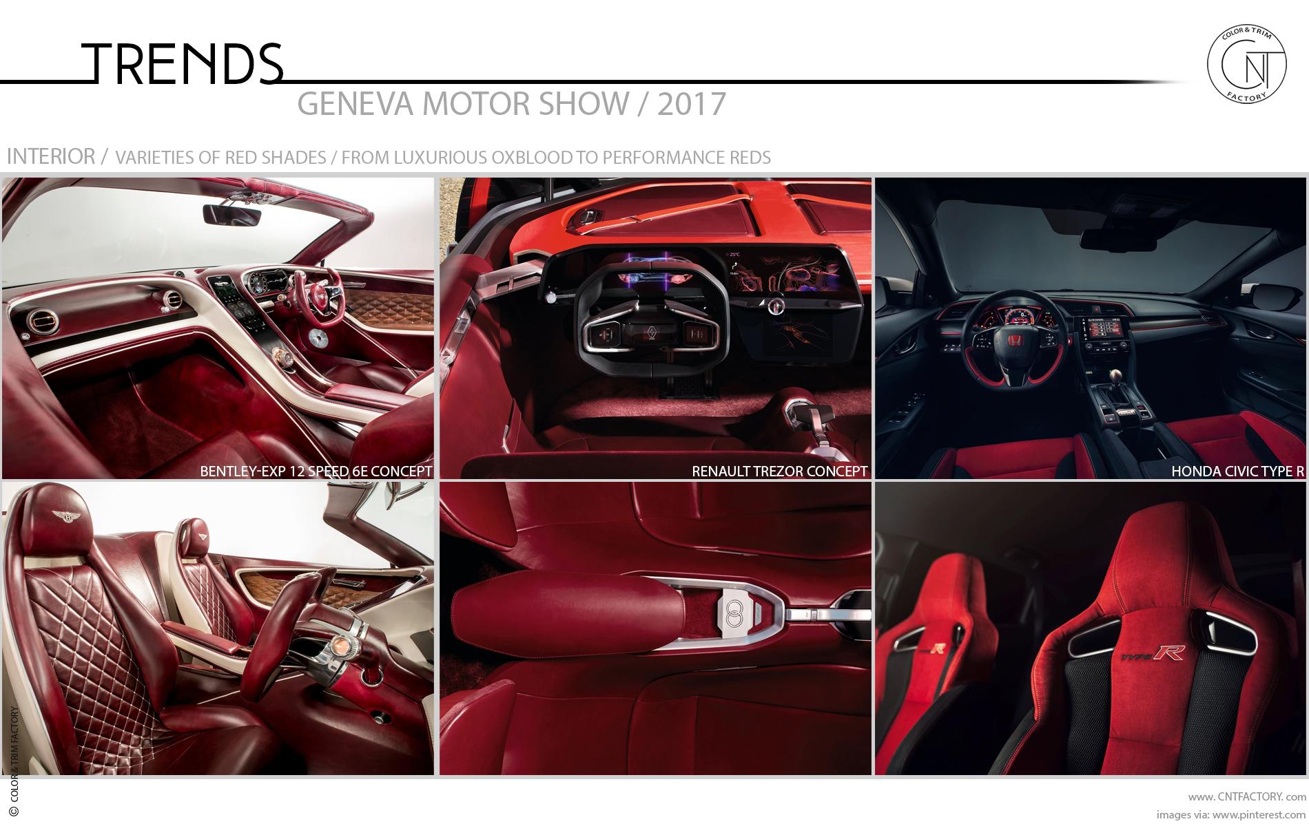 2017 geneva motor show color trim trends