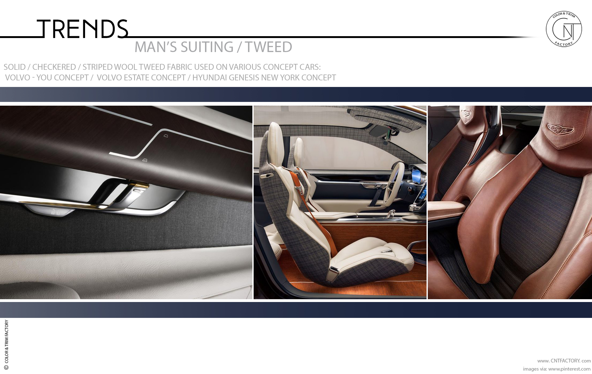 Suiting Material Tweed Automotive Design Color Trim