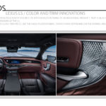 Lexus LS / Color and Trim Innovations