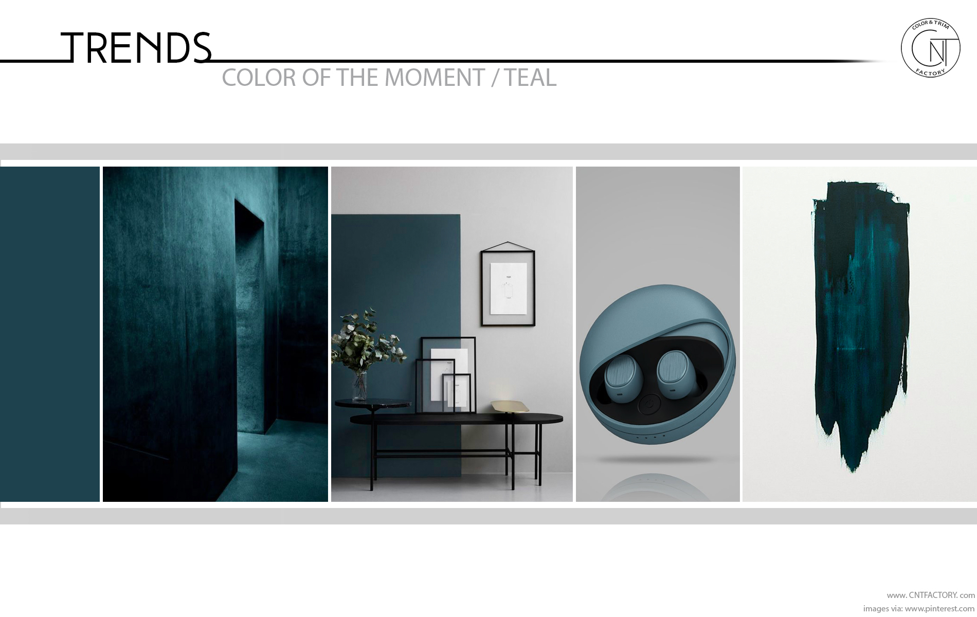 Trends Color Moment Teal cmf automotive product design