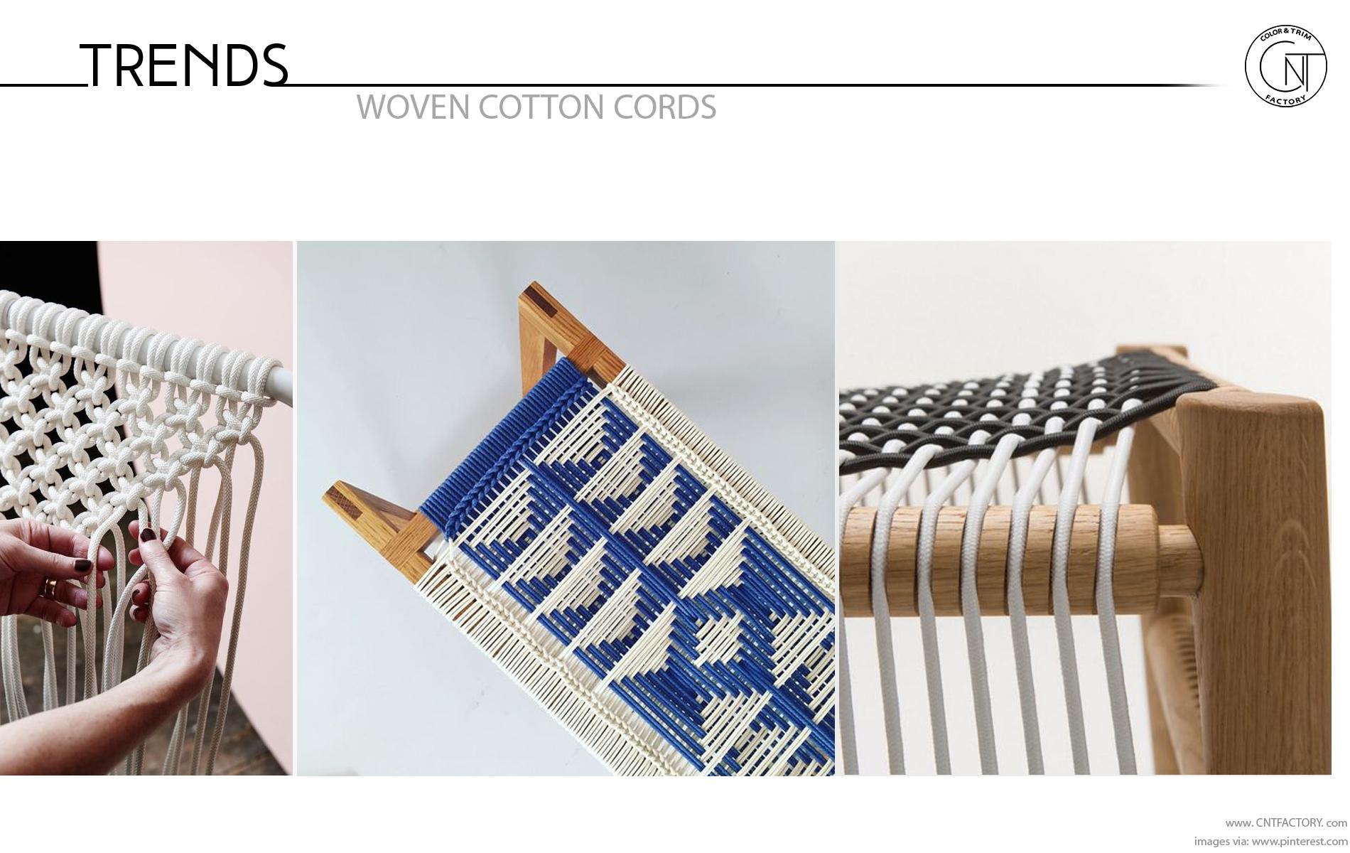 Woven Cotton Cords