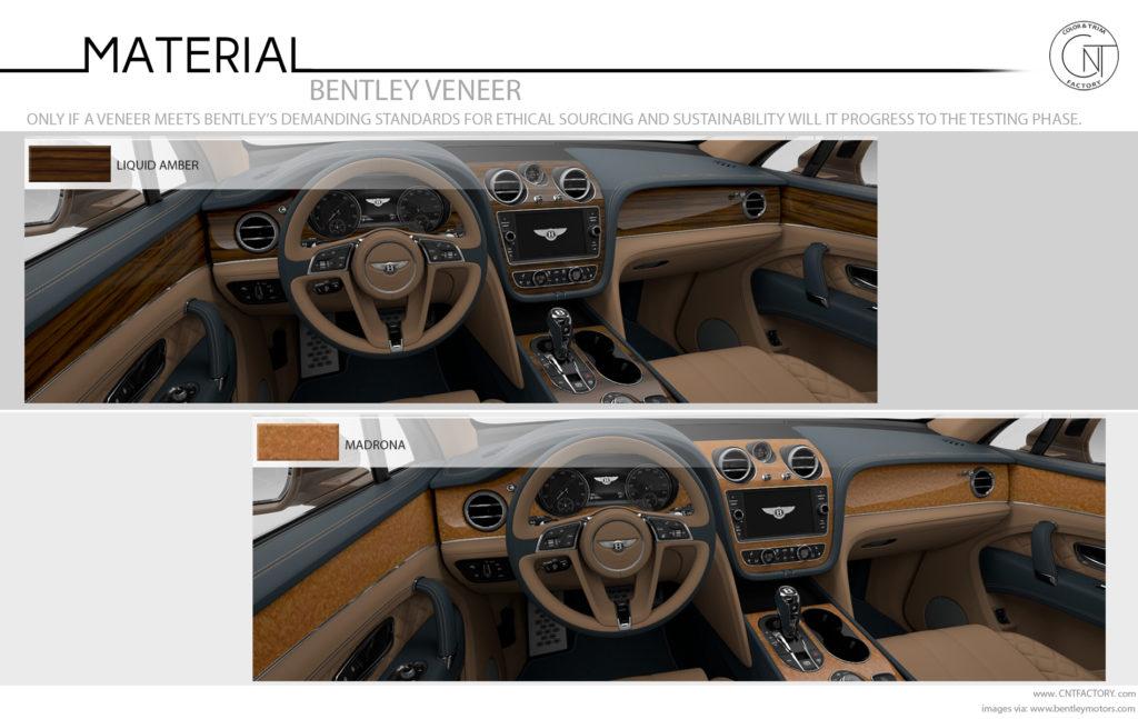 Bentley Veneer Options