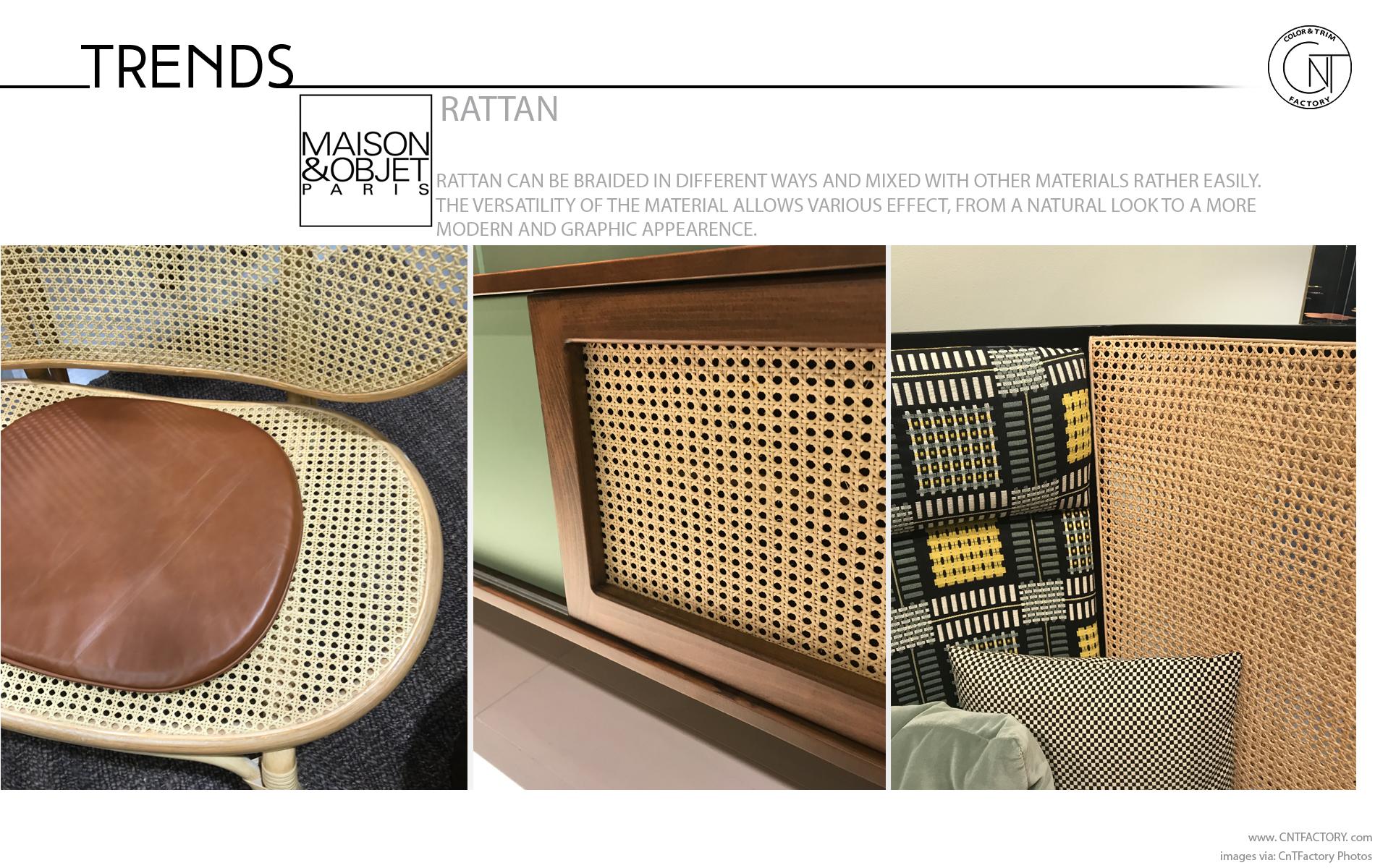 Maison Objet Paris Rattan
