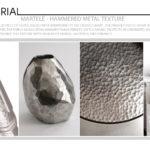 Martele Hammered Metal Texture