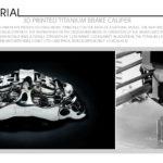 3D Printed Titanium Brake Caliper
