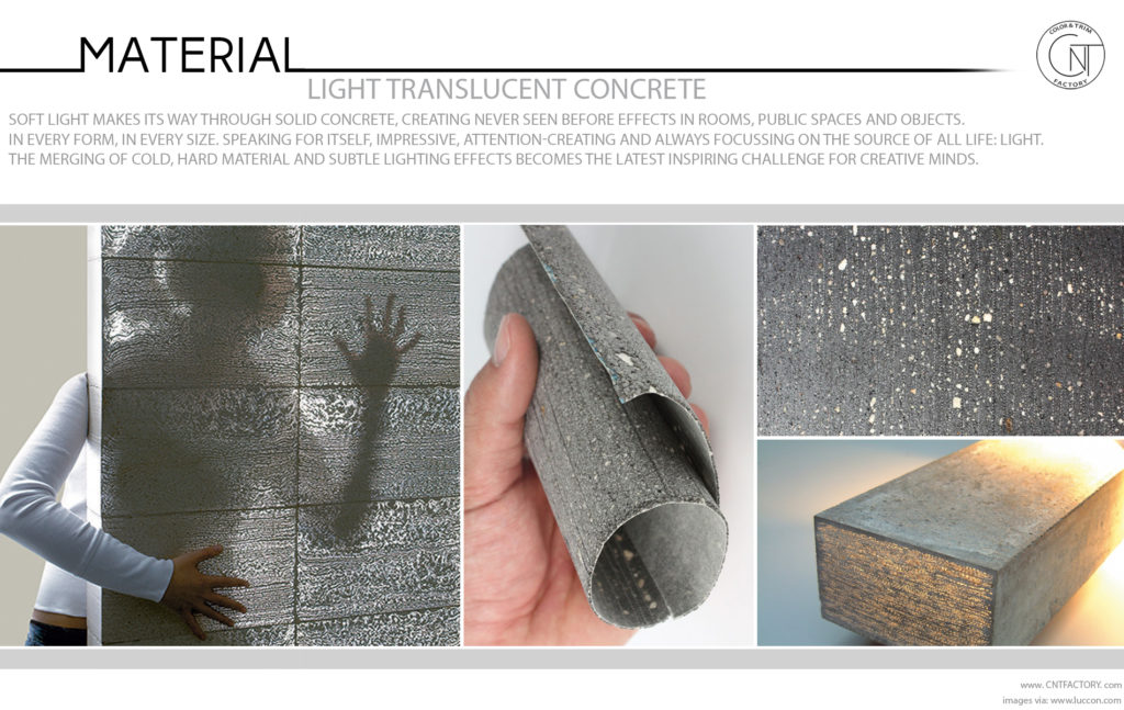Light Translucent Concrete