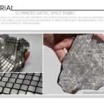 3D Printed Metal Space Fabric