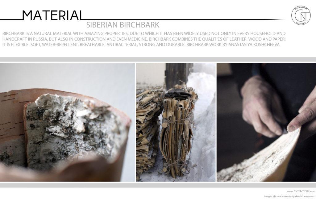 Siberian Birchbark Trim