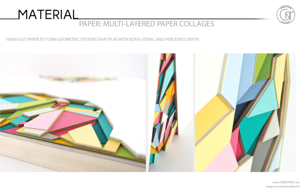 Multi Layered Paper Collages