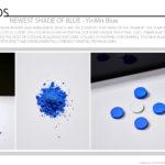 Newest Shade Of Blue - YInMn Blue