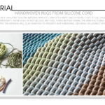Handwoven Rugs From Silicone Cord