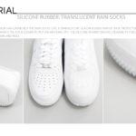 ONFAdd - Silicone Rubber Translucent Rain Socks