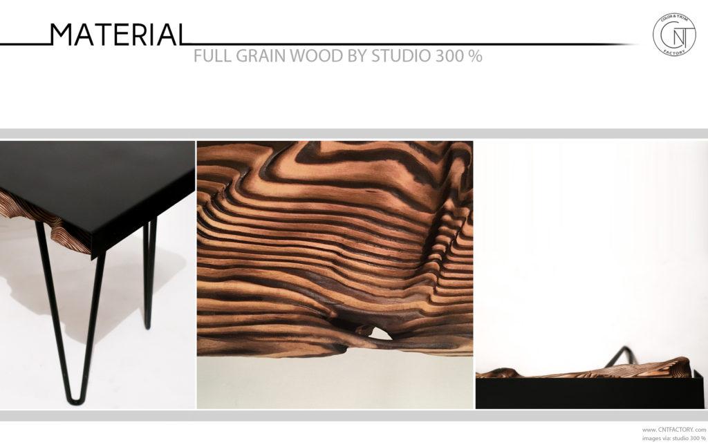 Full Grain Wood Studio 300%