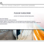 DS X E-Tense Concept / Maison Lemarie