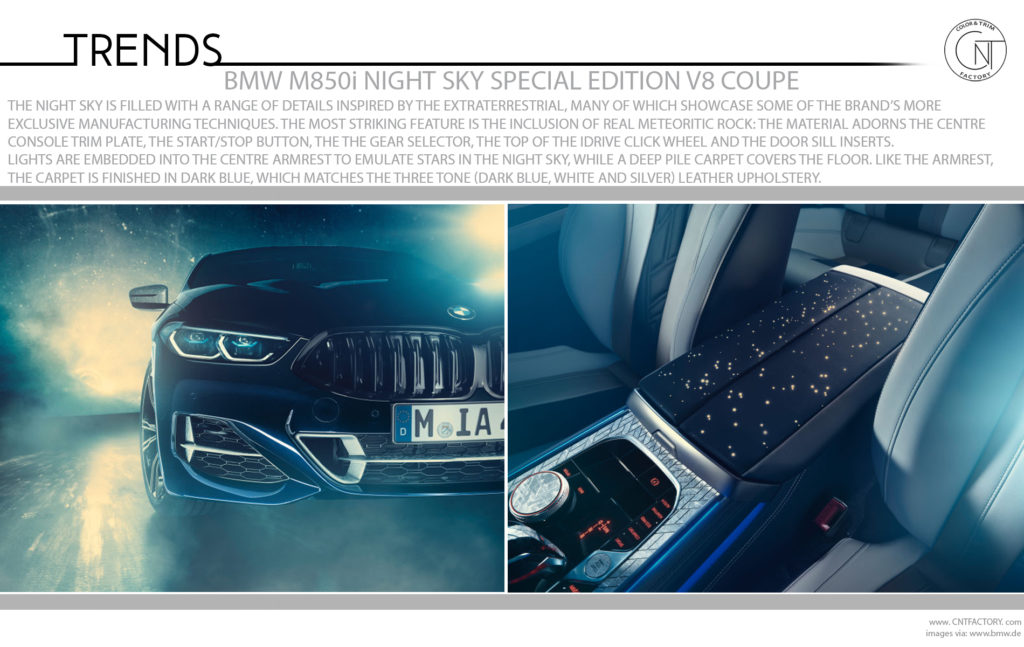 BMW Individual M850i Night Sky Includes Real Meteorites