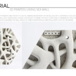 3D Printed Living Seawall by Volvo
