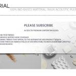 BAUX Acoustic Pulp Panels - Bio-Based Material