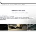 2019 Geneva Motor Show / Color and Trim Trends / Part 1