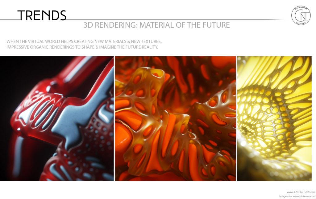 3D Rendering Material Future