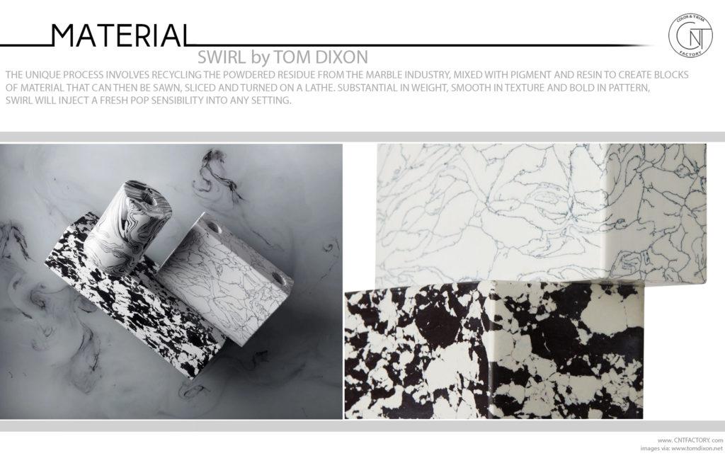 SWIRL Tom Dixon Marble Residue