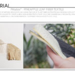 Piñatex® - Innovative Natural Textile Made From Pineapple Leaf Fibre