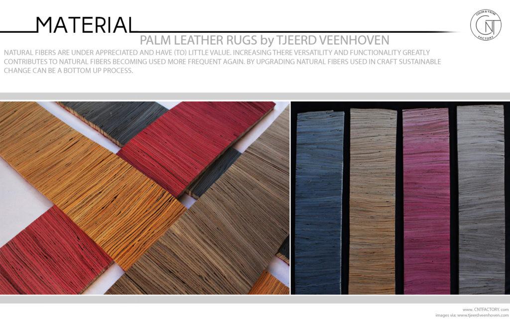 Palm Leather Rugs Tjeerd Veenhoven