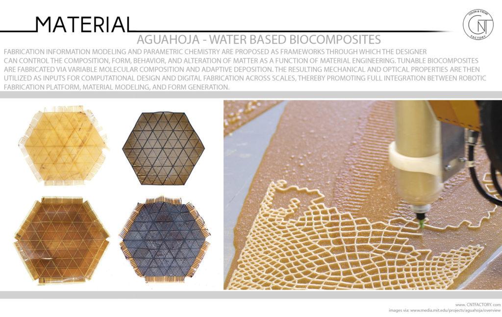 Aguahoja Programmable Water Based Biocomposites Digital Design