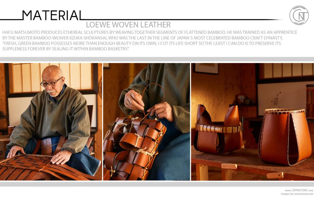 LOEWE Woven Leather