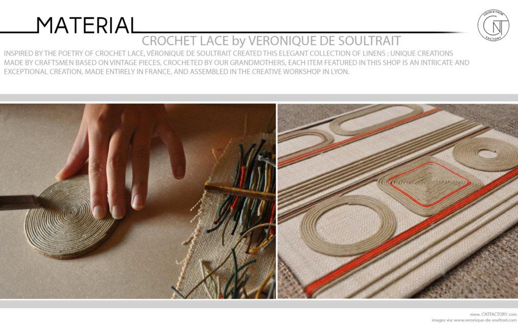 Crochet Lace Véronique de Soultrait