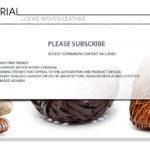 LOEWE - Woven Leather