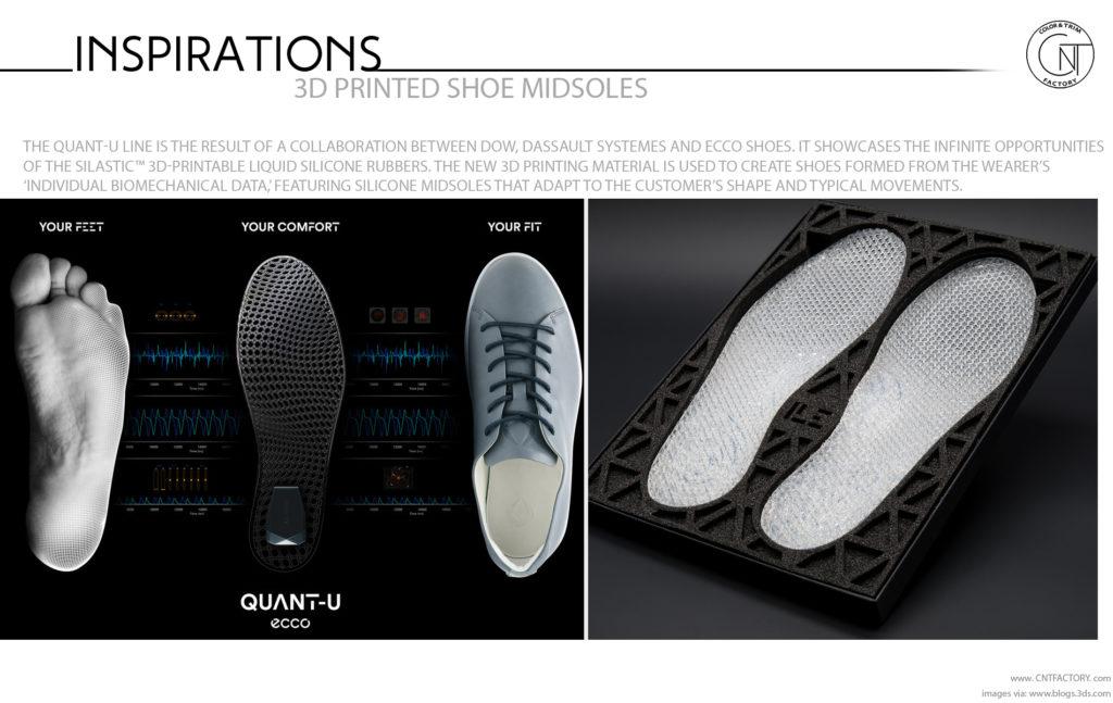 3D Printed Shoe Midsoles