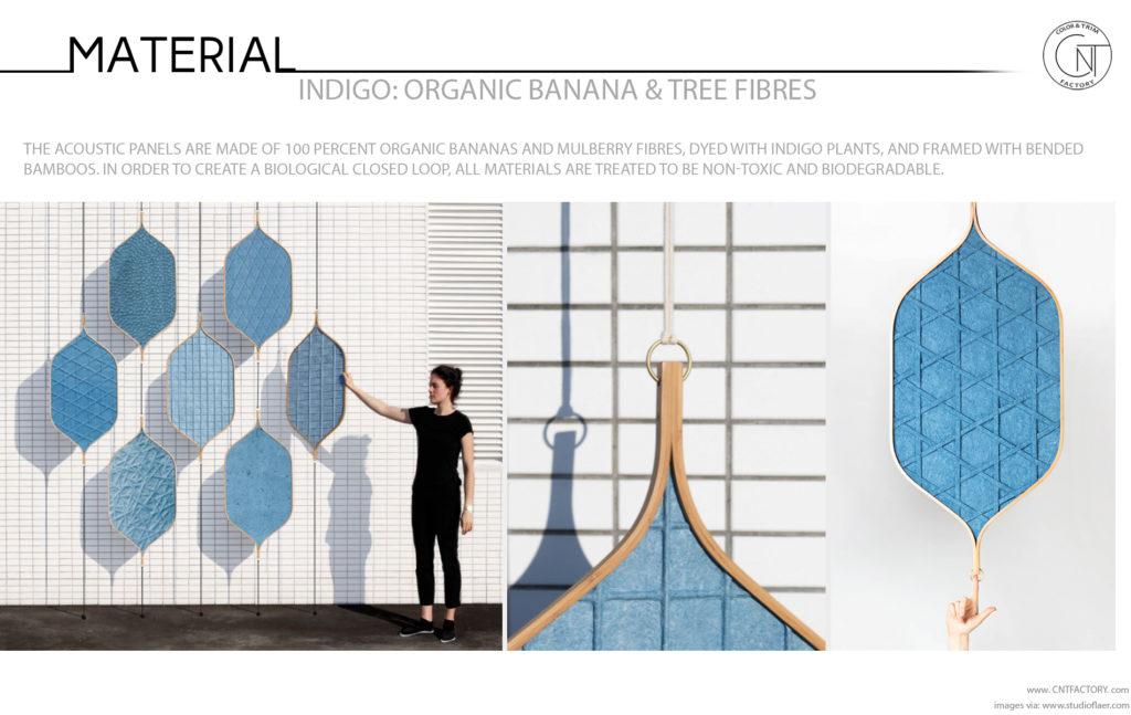 Indigo Organic Banana Tree Fibers