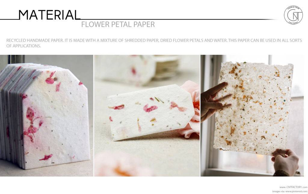 Flower Petal Paper