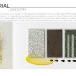 Sunflower - Leather / Foamboard / Composite / Hardboard