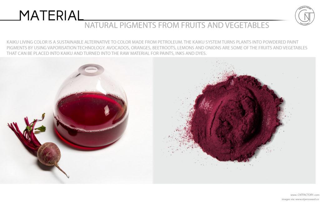 Natural Pigments Fruits Vegetables Automotive Color Trim Trends