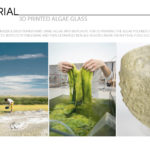 3D Printed Algae Glass