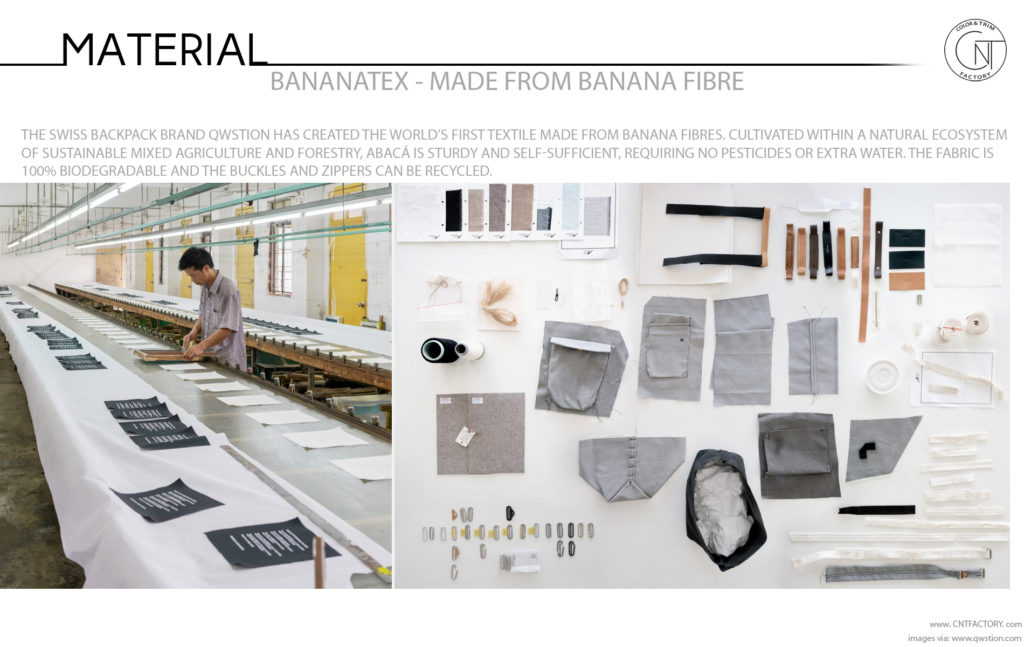 Bananatex®  Banana Fibre Automotive Color Trim Trends
