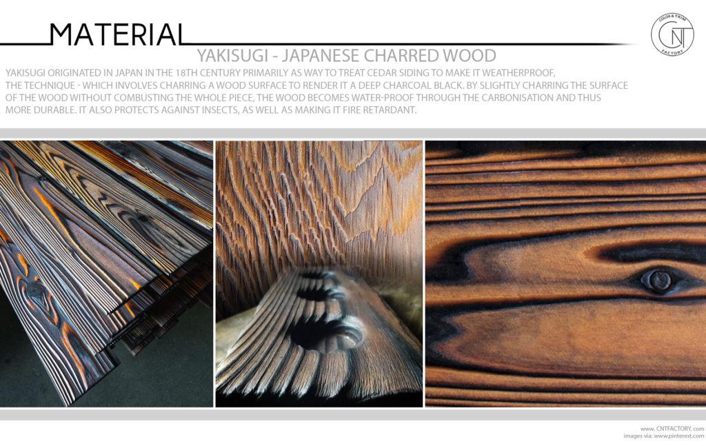 Yakisugi Japanese Charred Wood